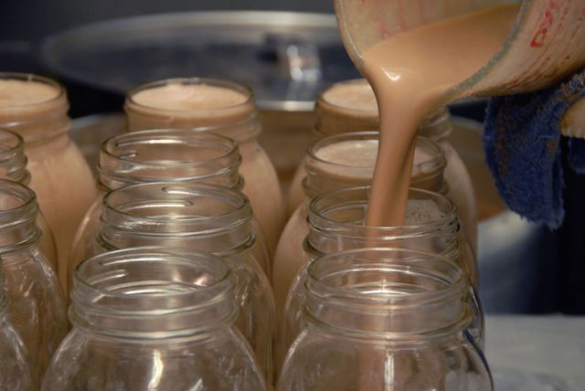 Seasonal Nut Milk